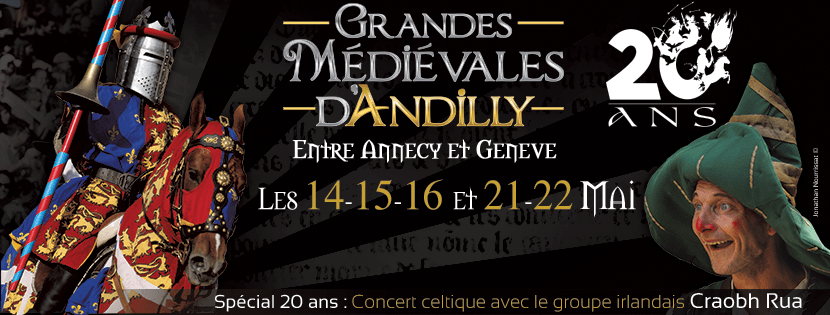 Andilly 2016: inscriptions membres reconstituteurs